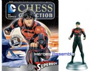 DC Chess Figurine Collection #82 Superboy Forever Evil Eaglemoss